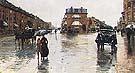 Childe Hassam Rainy Day, Columbus Avenne, Boston, 1885.