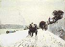 Childe Hassam Along the Seine, Winter, 1887