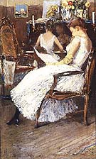 Childe Hassam Mrs. Hassam and Her Sister 1889