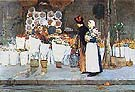 Childe Hassam At the Florist, 1889