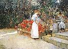 Childe Hassam After Breakfast 1887