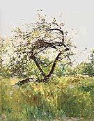 Childe Hassam Peach Blossoms-Villiers-le-Bel,1887