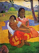 Paul Gauguin When Will You Marry Me (Nafea faa ipoipo)