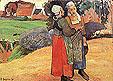 Paul Gauguin Two Breton Women on the Road 1894