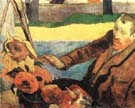 Paul Gauguin Van Gogh Painting Sunflowers 1888