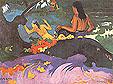 Paul Gauguin Near the Sea Fatate te Miti 1892