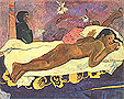 Paul Gauguin The Spirit of the Dead Keeps Watch (Manao Tupapau) 1892