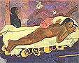 Paul Gauguin The Spirit of the Dead Keeps Watch (Manao Tupapau) 1892