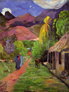 Paul Gauguin Tahiti Road