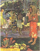 Paul Gauguin Hail Mary Ia Orana Maria 1891