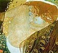 Gustav Klimt Danae 1907