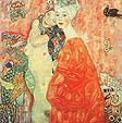 Gustav Klimt The Girl Friends 1907