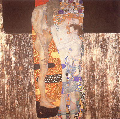 Gustav Klimt Three Ages of Woman