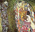 Gustav Klimt Life and Death (1916)