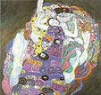 Gustav Klimt The Virgin (1913)