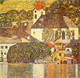 Gustav Klimt Church in Uterach 1916
