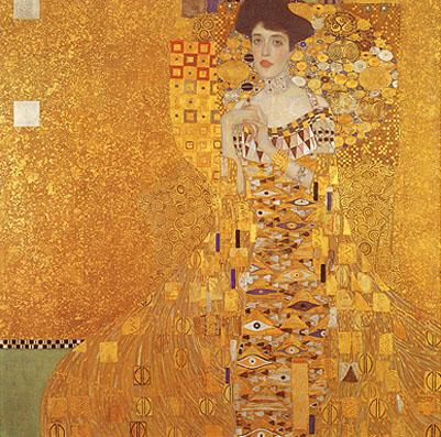 Gustav Klimt Adele Bloche Bauer Portrait