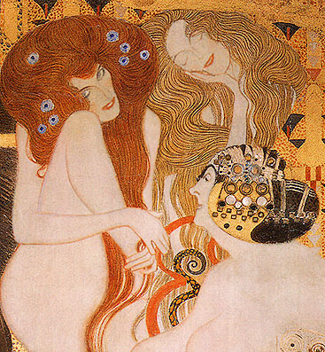 Gustav Klimt Beethoven Frieze 1902