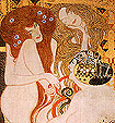 Gustav Klimt Beethoven Frieze 1902