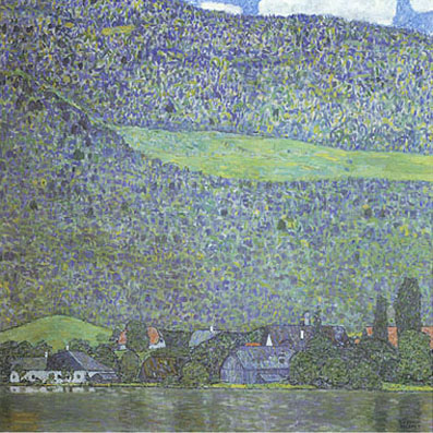 Gustav Klimt Unterach on the Attersee