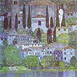 Gustav Klimt The Church in Cassone