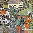 Gustav Klimt House in Unterach on the Attersee 1916