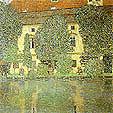 Gustav Klimt Schloss Kammer on the Attersee 3 1910