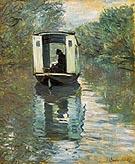 Claude Monet Le Bateau Atelier