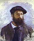 Claude Monet Self-portrait  Cap and Beard