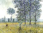 Claude Monet Under the Poplars