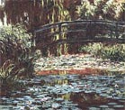 Claude Monet The Water Lily Pond [Japanese Bridge] 1900