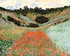 Claude Monet Poppy Field in a Hollow near Giverny 1885