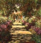 Claude Monet Avenue in the Artist's Garden