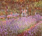 Claude Monet Artist's Garden Irises