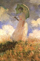 Claude Monet The Walk Lady with Parasol