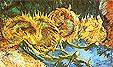 Vincent van Gogh Four Cut Sunflowers 1887