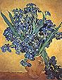 Vincent van Gogh Vase with Irises  Yellow