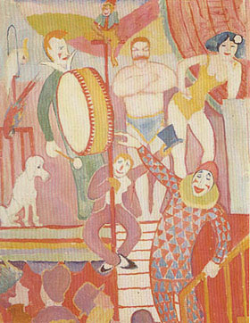 August Macke Circus Picture II 1911