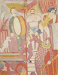 August Macke Circus Picture II 1911