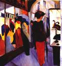 August Macke Hat Shop 1913)
