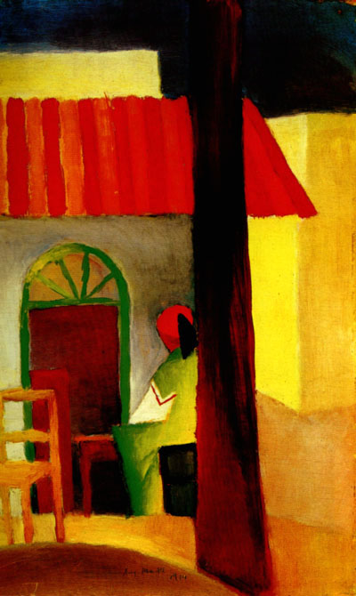 August Macke Turkish Cafe I 1914
