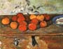 Paul Cezanne Apples & Plate of Biscuits