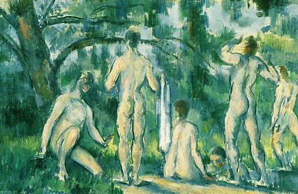 Paul Cezanne Bathers