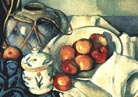 Paul Cezanne Still Life with Olive Jar Detail