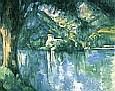 Paul Cezanne Lake Annecy 1896