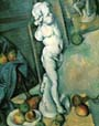Paul Cezanne Still Life with Putto 1895