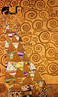 Gustav Klimt Expectation