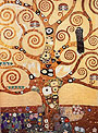 Gustav Klimt Tree of Life (1905-09)