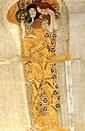 Gustav Klimt Yearning for Happiness Detail 1902