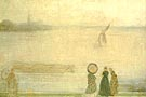 James McNeill Whistler Battersea Reach from Lindsey Houses 1860